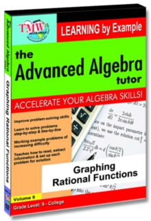 The Advanced Algebra Tutor: Graphing Rational Functions, DVD DVD