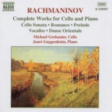 Complete Works for Cello and Piano, CD / Album Cd