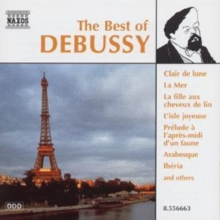 THE BEST OF DEBUSSY, CD / Album Cd