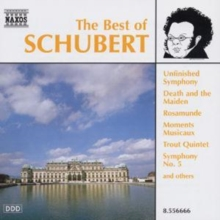 The Best of Schubert, CD / Album Cd