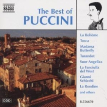 The Best of Puccini, CD / Album Cd