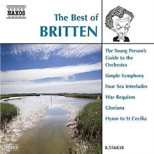 The Best of Britten, CD / Album Cd