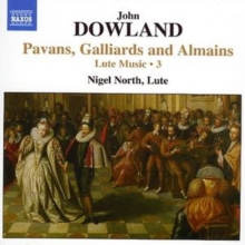 Lute Music 3: Pavans, Galliards and Almains (North), CD / Album Cd