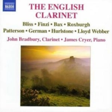 English Clarinet, The (Bradbury, Cryer), CD / Album Cd