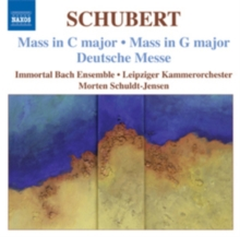 Mass in C Major/Mass in G Major/Deutsche Messe, CD / Album Cd