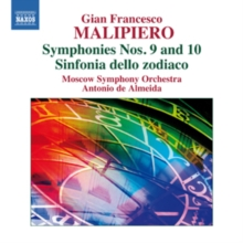 Gian Francesco Malipiero: Symphonies Nos. 9 and 10/..., CD / Album Cd