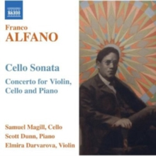 Franco Alfano: Cello Sonata, CD / Album Cd