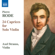 Pierre Rode: 24 Caprices for Solo Violin, CD / Album Cd