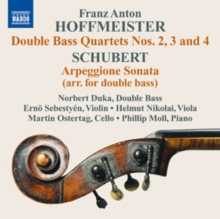 Hoffmeister: Double Bass Quartets Nos. 2, 3 and 4/..., CD / Album Cd