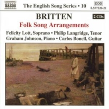 Folk Song Arrangements (Lott, Langridge, Johnson), CD / Album Cd