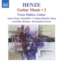 Hans Werner Henze: Guitar Music, CD / Album Cd