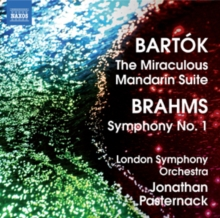 Bartok: The Miraculous Mandarin Suite/Brahms: Symphony No. 1, CD / Album Cd