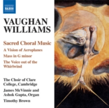 Vaughan Williams: Sacred Choral Music, CD / Album Cd