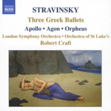 Three Greek Ballets - Apollo/agon/orpheus (Craft, Lso), CD / Album Cd