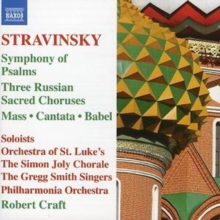 Three Russian Sacred Choruses (Craft, Po), CD / Album Cd