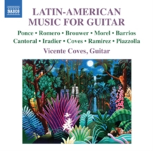 Latin-American Music for Guitar, CD / Album Cd