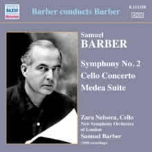 Samuel Barber: Symphony No. 2/Cello Concerto/Medea Suite, CD / Album Cd