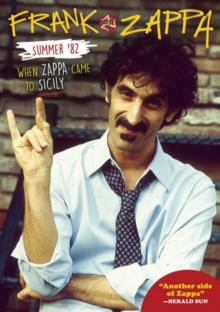 Frank Zappa: Summer '82 - When Zappa Came to Sicily, Blu-ray BluRay