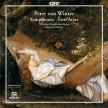 Peter Von Winter: Symphonies/Entr'actes, CD / Album Cd