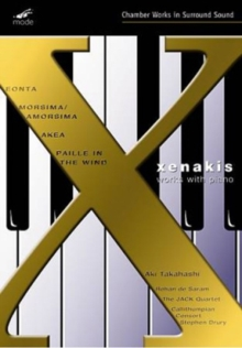 Xenakis: Works With Piano, DVD DVD