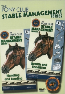 Pony Club Stable Management: Health and Condition/handling And..., DVD  DVD