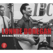 Lonnie Donegan & the Original Hits of the Skiffle Explosion, CD / Album Cd