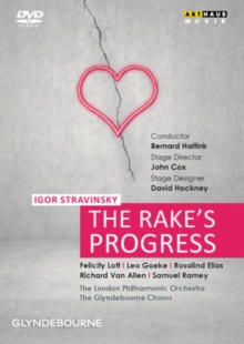 The Rake's Progress: Glyndebourne Festival (Haitink), DVD DVD