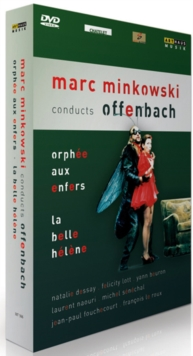 Mark Minkowski Conducts Offenbach, DVD  DVD