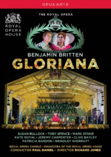 Gloriana: Royal Opera House (Daniel), DVD  DVD