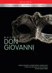 Don Giovanni: Teatro Real Madrid (Perez), DVD  DVD