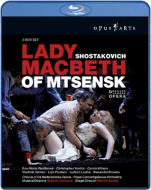 Lady Macbeth of Mtsensk: Het Musiektheater, Amsterdam, Blu-ray  BluRay