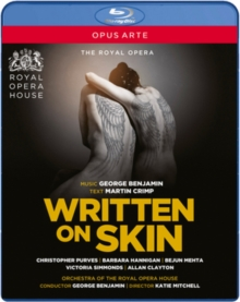 Written On Skin: The Royal Opera (Benjamin), Blu-ray  BluRay