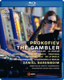 The Gambler: Staatskapelle Berlin (Barenboim), Blu-ray BluRay