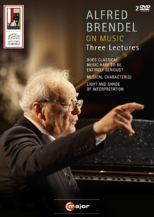 Alfred Brendel: On Music, DVD  DVD