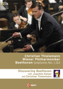 Beethoven: Symphonies 1, 2 and 3 (Thielemann), DVD  DVD