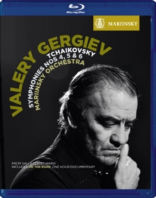 Tchaikovsky: Symphonies Nos. 4, 5 and 6 (Gergiev), Blu-ray BluRay