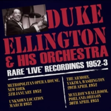 Rare 'Live' Recordings 1952-3, CD / Album Cd