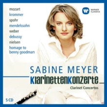 Sabine Meyer: Klarinetten Konzerte, CD / Box Set Cd