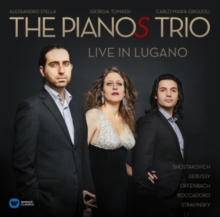 The Pianos Trio: Live in Lugano, CD / Album Cd