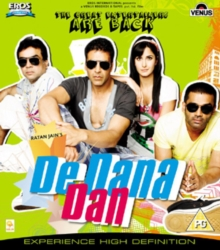 De Dana Dan, Blu-ray  BluRay