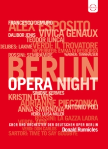 Berlin Opera Night, DVD  DVD