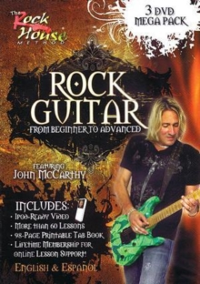Rock Guitar - From Beginner to Advanced, DVD  DVD