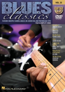 Blues Classics Guitar Play-along: Volume 23, DVD  DVD