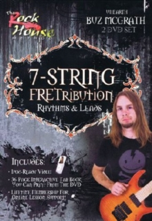 Buz McGrath: 7 String Fretribution - Rhythms and Leads, DVD  DVD