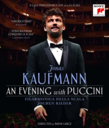 Jonas Kaufmann: An Evening With Puccini, Blu-ray BluRay