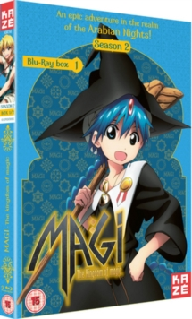 Magi - The Kingdom of Magic: Season 2 - Part 1, Blu-ray  BluRay