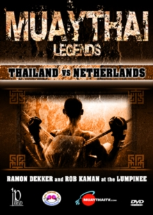 Muay-Thai Legends: Thailand Vs Netherlands, DVD  DVD