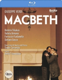 Macbeth: Opéra National De Paris (Currentzis), Blu-ray BluRay