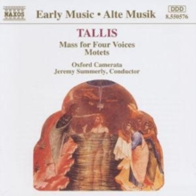 Tallis/ Music for Four Voices, CD / Album Cd