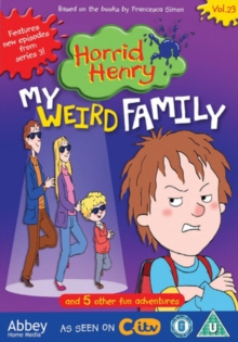 Horrid Henry: My Weird Family, DVD  DVD